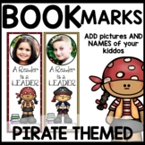 Book Marks Pirate Themed (Personalized with student pictur