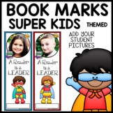 Book Marks SUPERHERO Themed (Personalized with student pic