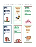 Book Marks for Reading Rewards