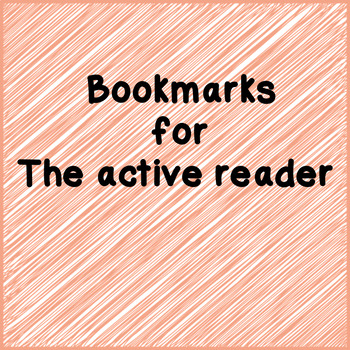 Book Marks - non themed