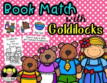 Book Match: Goldilocks and the Three Bears