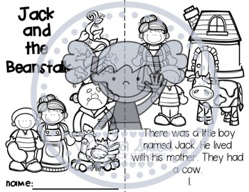 Book Match: Jack and the Beanstalk
