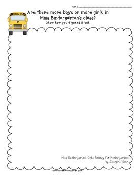 Book Math:  Kindergarten Problem Solving Using Literature