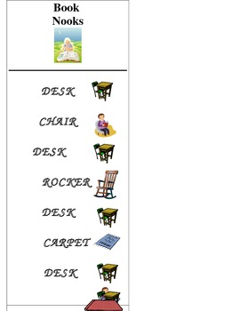 Book Nook Schedule