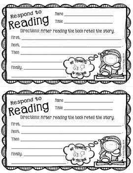 Book Nook Worksheets