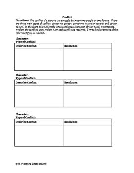 Book / Novel / Literature Circle Study Packet