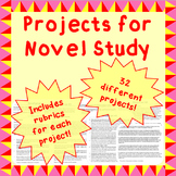 Book (Novel) project ideas with rubrics