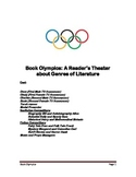 Book Olympics - a Reader's Theater about Genres of Literature