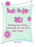 Book Order Blitz - Task Cards for Literacy Workshop