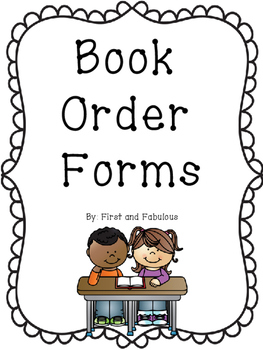 Book Order Forms