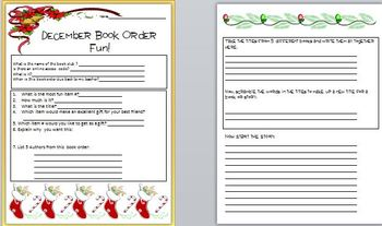 Book Order Fun for December