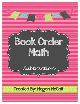 Book Order Math: Subtraction
