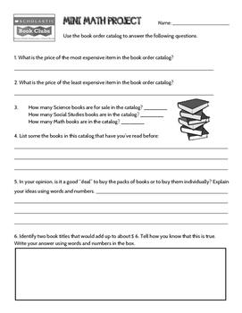 Book Order Problem Solving by JennyG