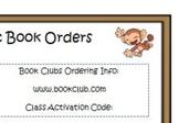Book Order Note  FREEBIE
