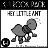 Book Pack Sub Plans: Hey, Little Ant