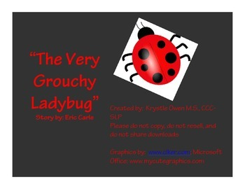Book Packet: The Very Grouchy Ladybug