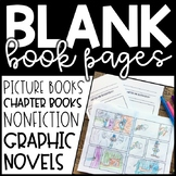 Blank Book Pages - Write a book - Mini Book - Graphic Novel
