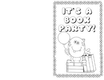Book Party Invitation!