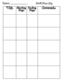 Book Pass Activity Log