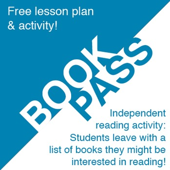 Book Pass: Free Independent Reading Activity