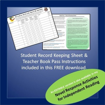 Book Pass Record Keeping Tool