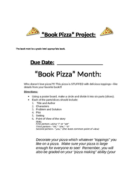 Book Pizza Project