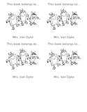 Book Plates for Classroom Library Books