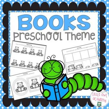 Book Preschool Packet