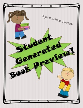 Student Book Recommendation Form -- **FREEBIE**