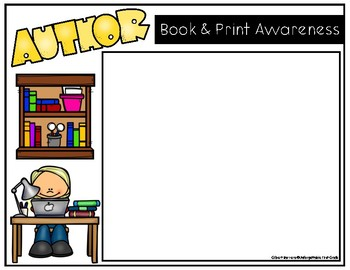 Book & Print Awareness {Digital Templates for Pic Collage}