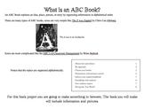 Book Project - ABC Book