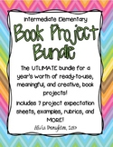 Book Project Bundle! 7 Complete, Creative Book Projects an