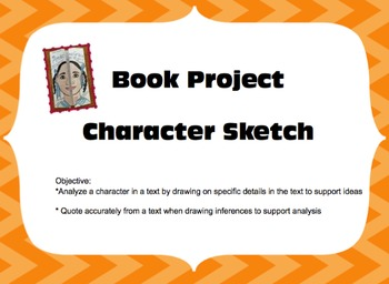 Book Project - Character Sketch