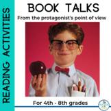 Book Project: Characters Talk! Grades 4-8