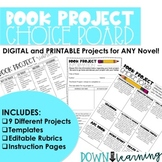 Book Project Choice Board