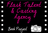 Book Project - Flash Talent and Casting Agency Poster and Portfolio