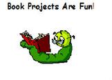 Book Project Menu