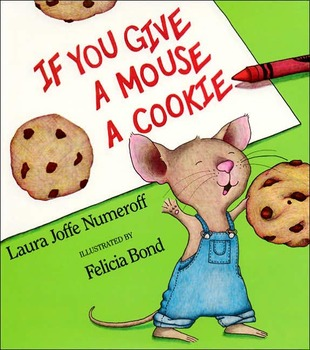 Book Project: Outline of If you give a mouse a cookie project