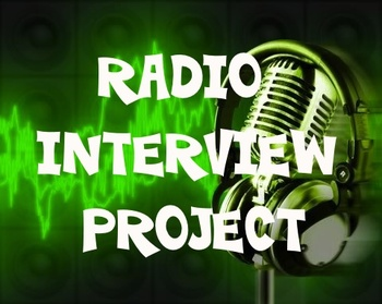 Book Project - Radio Interview with Character