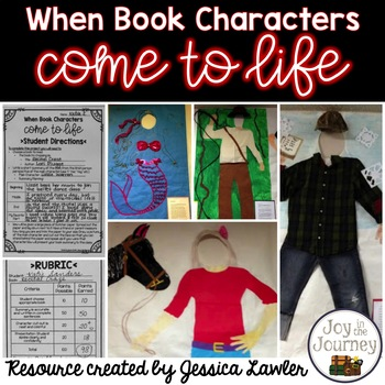 Book Project: When Book Characters Come to Life