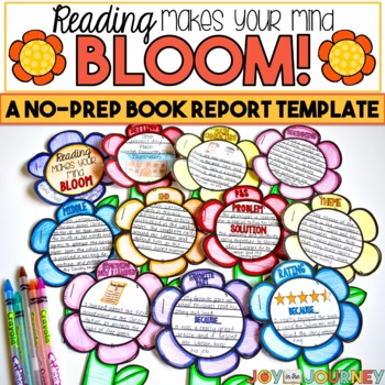Book Project for ANY Book: Reading Makes Your Mind Bloom (May or Spring)