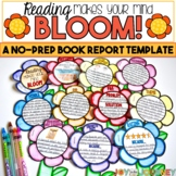 Book Project for ANY Book: Reading Makes Your Mind Bloom (