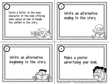 Book Projects to Use with Any Story