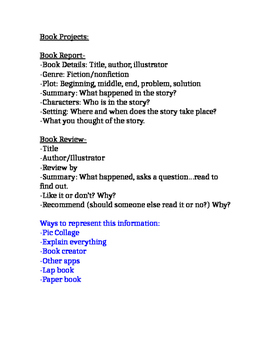 Book Projects