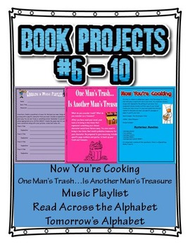 Book Projects 6 Thru 10