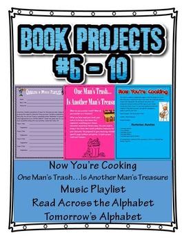 Book Projects 6 Thru 10
