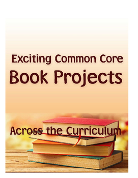 Book Projects Across Common Core