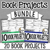 Book Projects - BUNDLE  (20 Book Projects!)