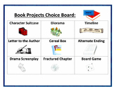 Book Projects Choice Board