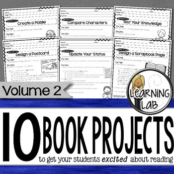 Book Projects - Volume 2  (10 MORE Book Projects)